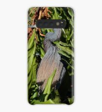 Little Blue Heron in Mating Colors Case/Skin for Samsung Galaxy
