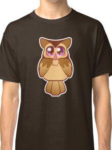 Cute Purple Night Owl Classic T-Shirt