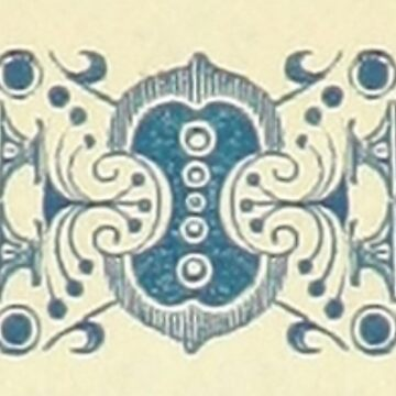 Victorian Decoration and design, Border Motif, Pattern by TOMSREDBUBBLE