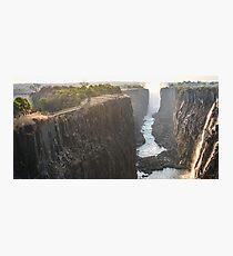 Victoria Falls in Zimbabwe Photographic Print