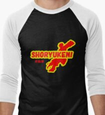 Street Fighter - Ken - Shoryuken Men's Baseball ¾ T-Shirt