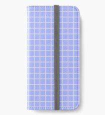 Blue Grid iPhone Wallet/Case/Skin