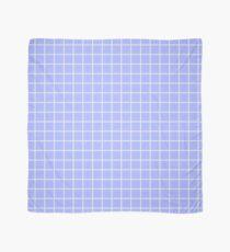 Blue Grid Scarf