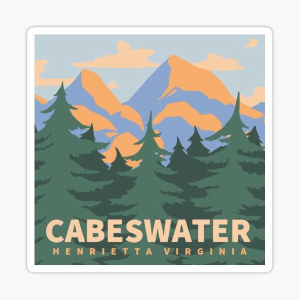 Cabeswater Henrietta Virginia Sticker