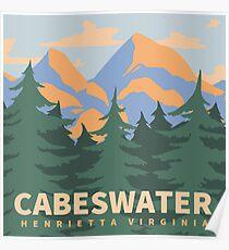 Cabeswater Henrietta Virginia Poster