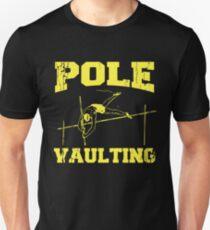 Pole Vault Gift - Custom Pole Sticker - Custom Pole Decal - Pole Vaulting Stick - Pole Vault Necklace - Pole Sticker - Pole Vaulter Stick Unisex T-Shirt