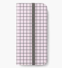 Pink Grid iPhone Wallet/Case/Skin