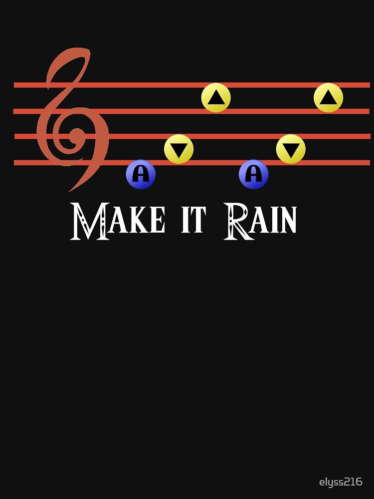 Legend of Zelda Make it Rain | Unisex T-Shirt