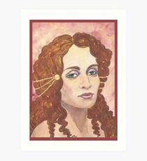 Amirah Eyes Art Print