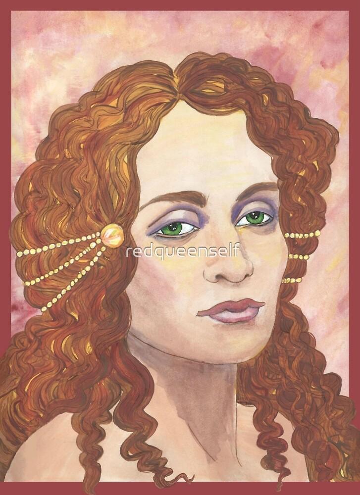 Amirah Eyes by redqueenself
