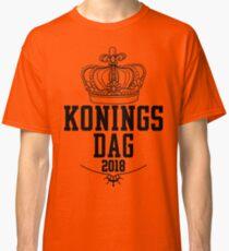 oranje shirt koningsdag 2018 Classic T-Shirt