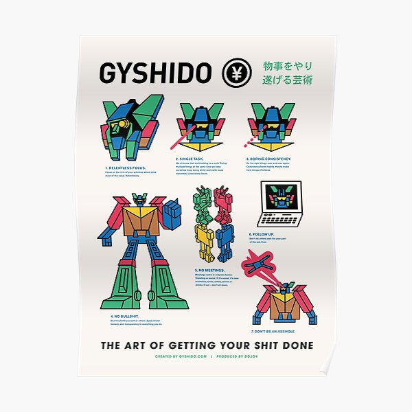 The GyShiDo Manifesto Poster