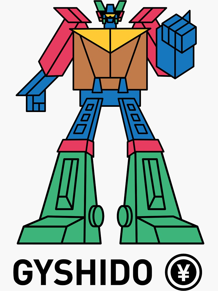 The GyShiDo-San Robot by GyShiDo-Store