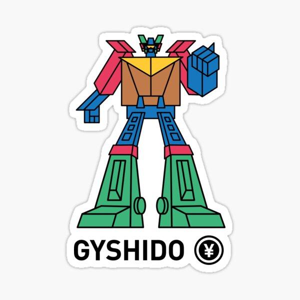 The GyShiDo-San Robot Sticker