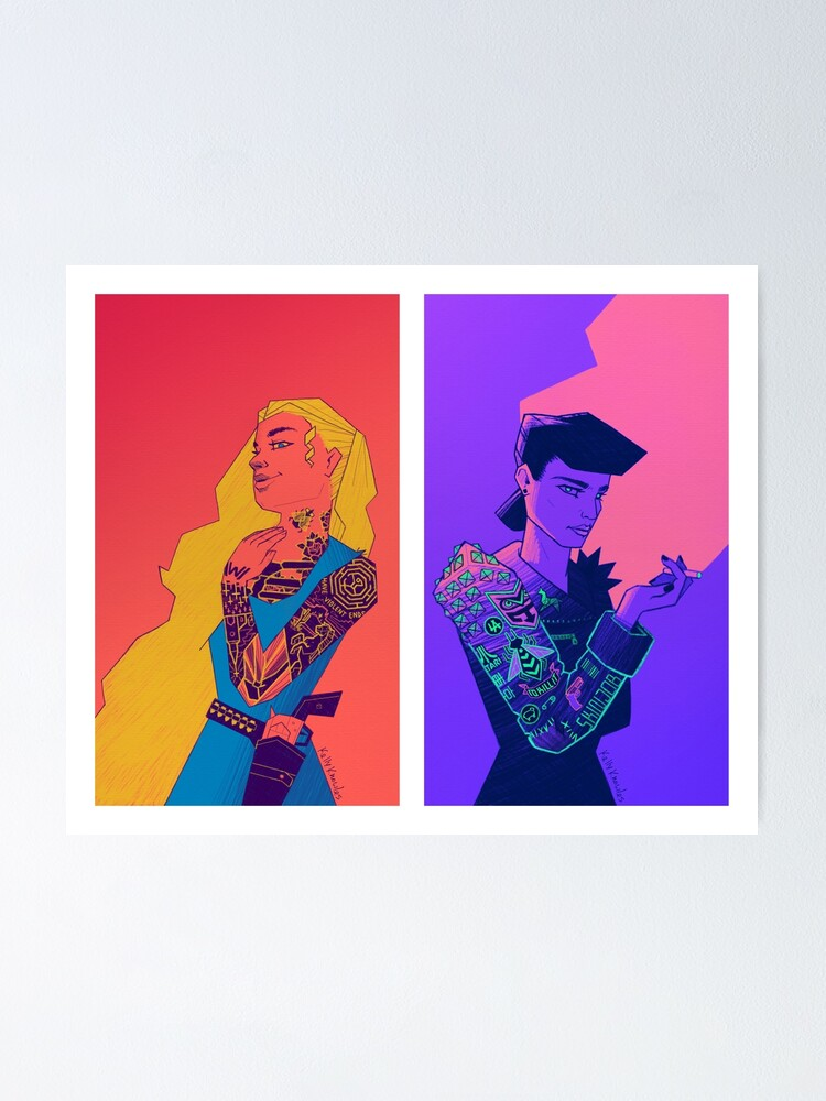 Alternate view of Cyberpunkettes Poster