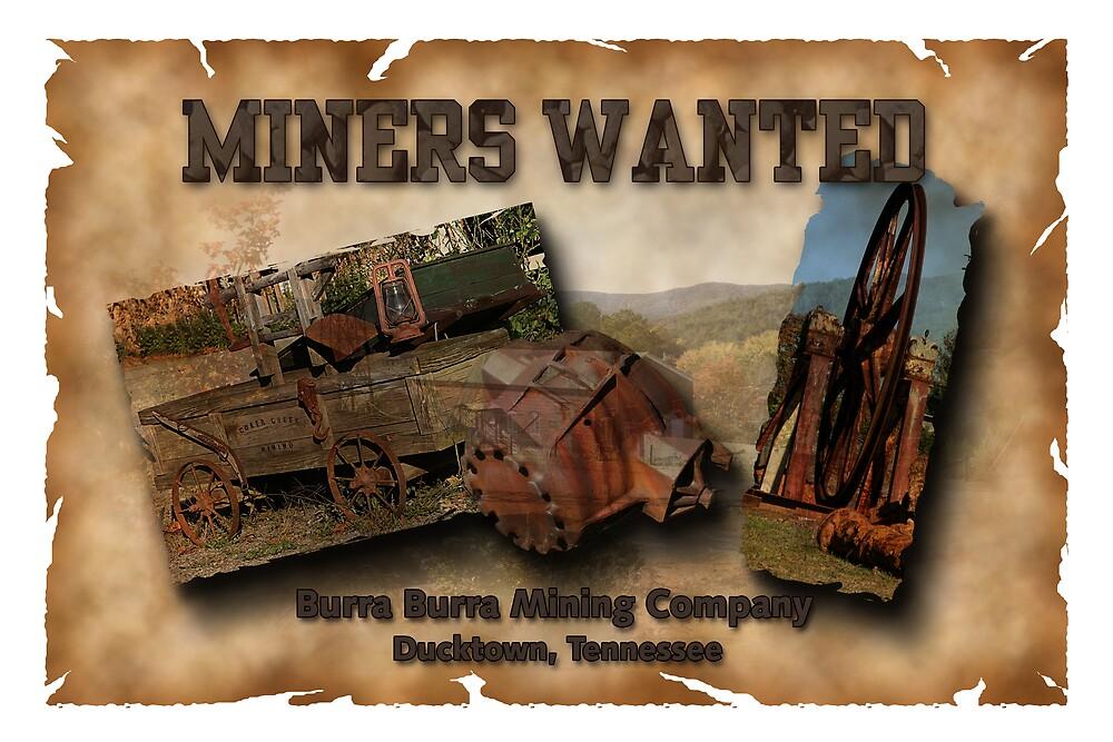 Burra Burra Mine by Patricia Montgomery