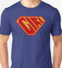 Girl SuperEmpowered (Red and Gold) Unisex T-Shirt