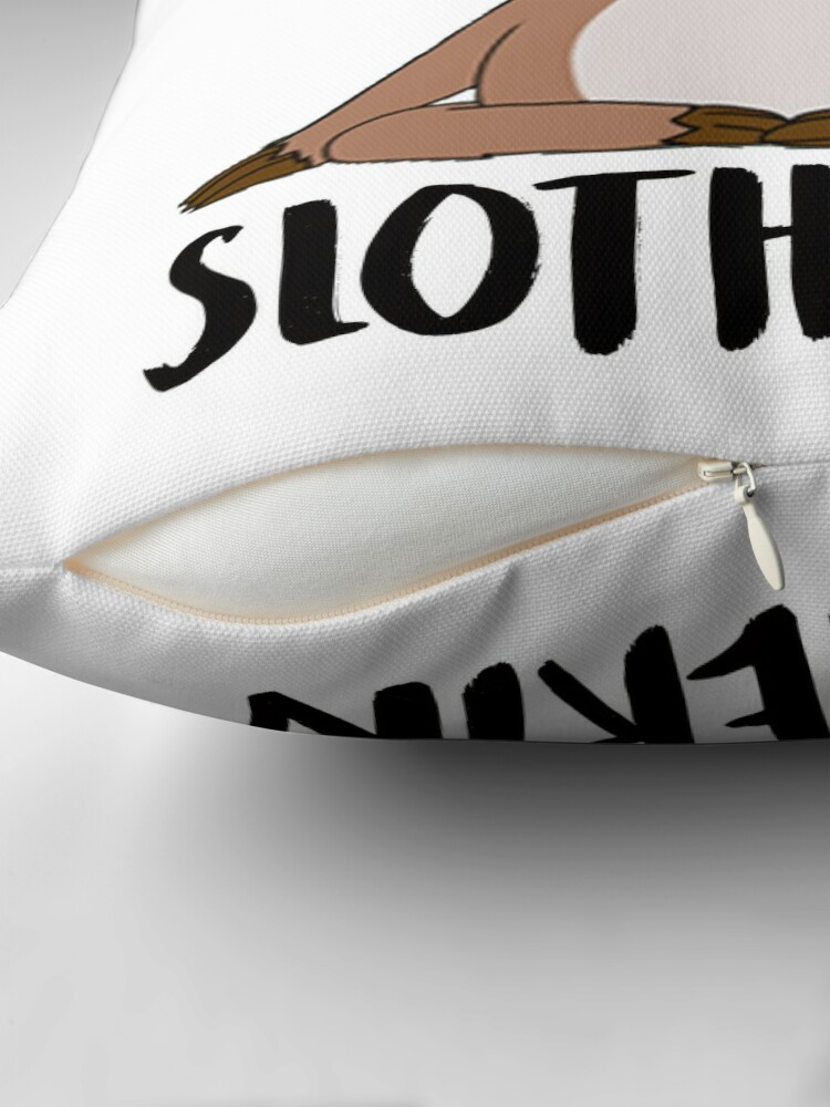 Alternate view of Slotherin Throw Pillow