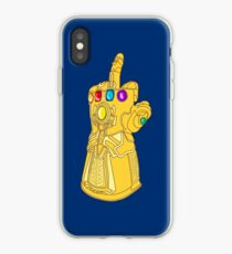 Infinity Finger iPhone Case