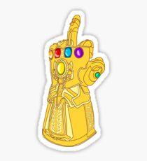 Infinity Finger Sticker