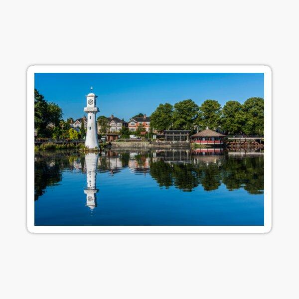 Roath Park Lake Cardiff Sticker