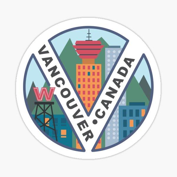 Vancouver Sticker Sticker