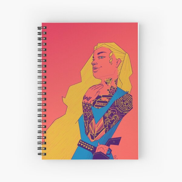 These Violent Delights Spiral Notebook