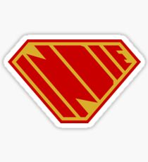 Indie Power (Red and Gold) Sticker