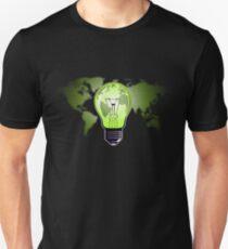 The Green Glow Slim Fit T-Shirt