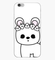 Cute Pet Bunny Blanc de Hotot with Flower Crown Original iPhone Case