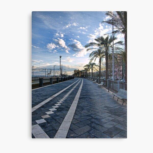 Il passiatore, Catania Metal Print