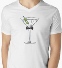 Dry Martini Men's V-Neck T-Shirt