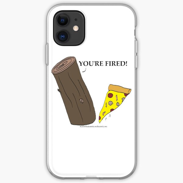 Wood fired Pizza iPhone Soft Case