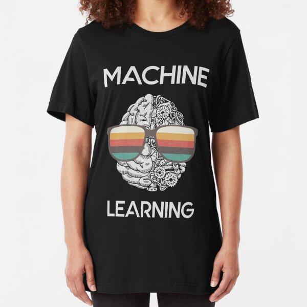 Machine Learning Nerd Slim Fit T-Shirt