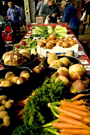 Market Day by Richard Hamilton-Veal