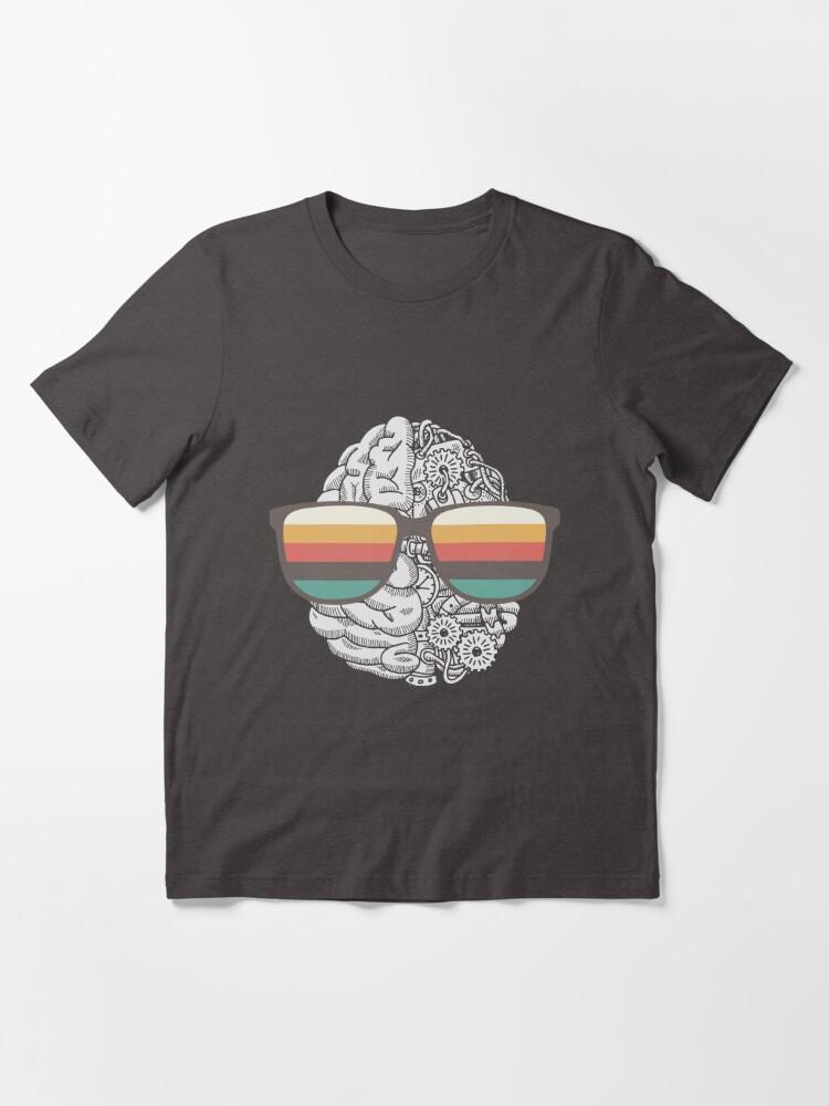 Alternate view of Machine Learning Brain Essential T-Shirt