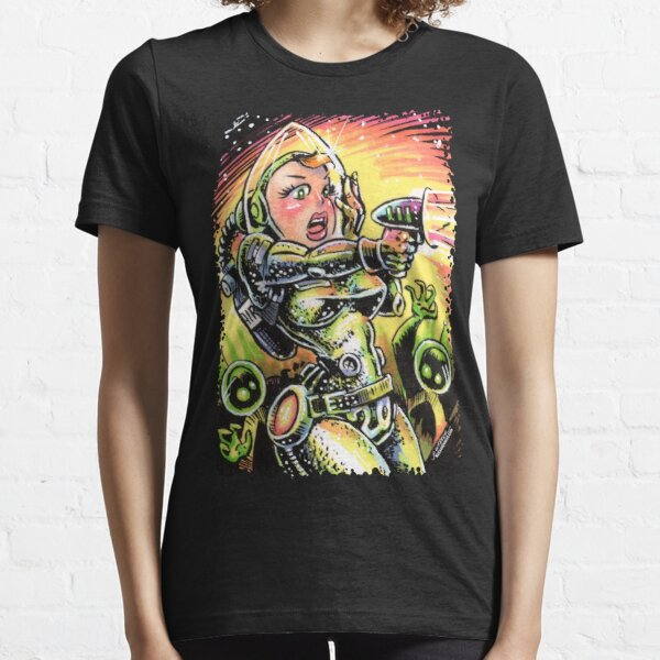 Space Girl 20 Essential T-Shirt