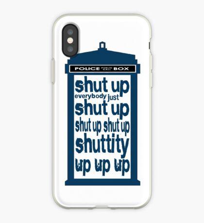 Shuttity Up! iPhone Case