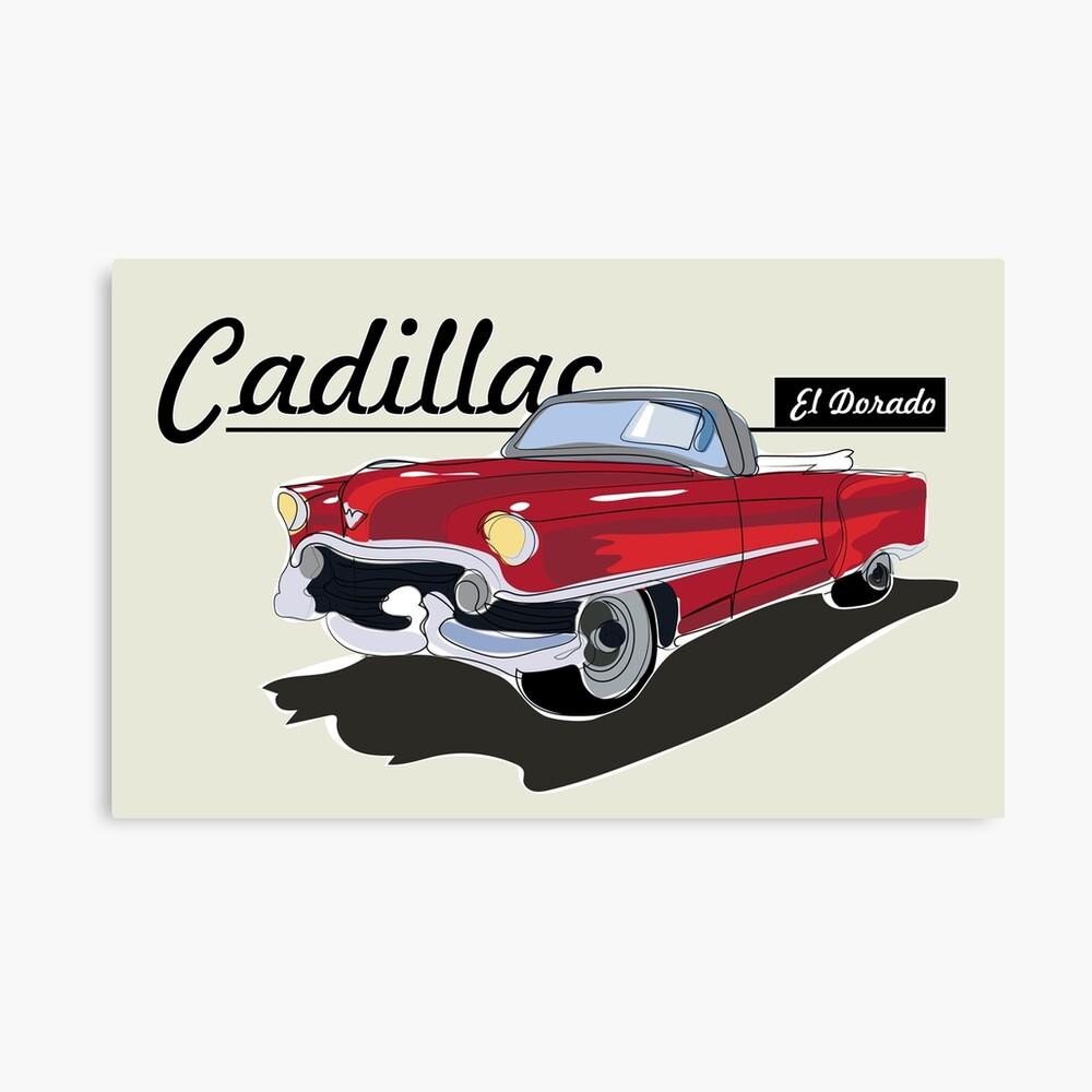 Cadillac El Dorado Lienzo