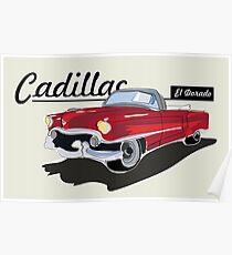 Póster Cadillac El Dorado