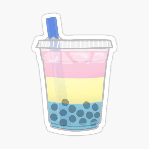 Pride Boba Tea - Pan Sticker
