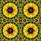 Sunny Flower Mandala by DesJardins