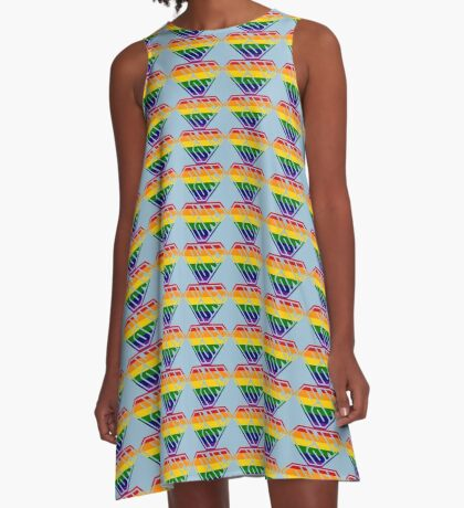 SuperEmpowered (Rainbow) A-Line Dress