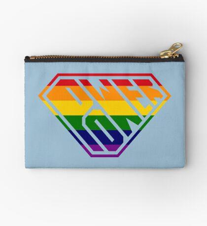 SuperEmpowered (Rainbow) Zipper Pouch