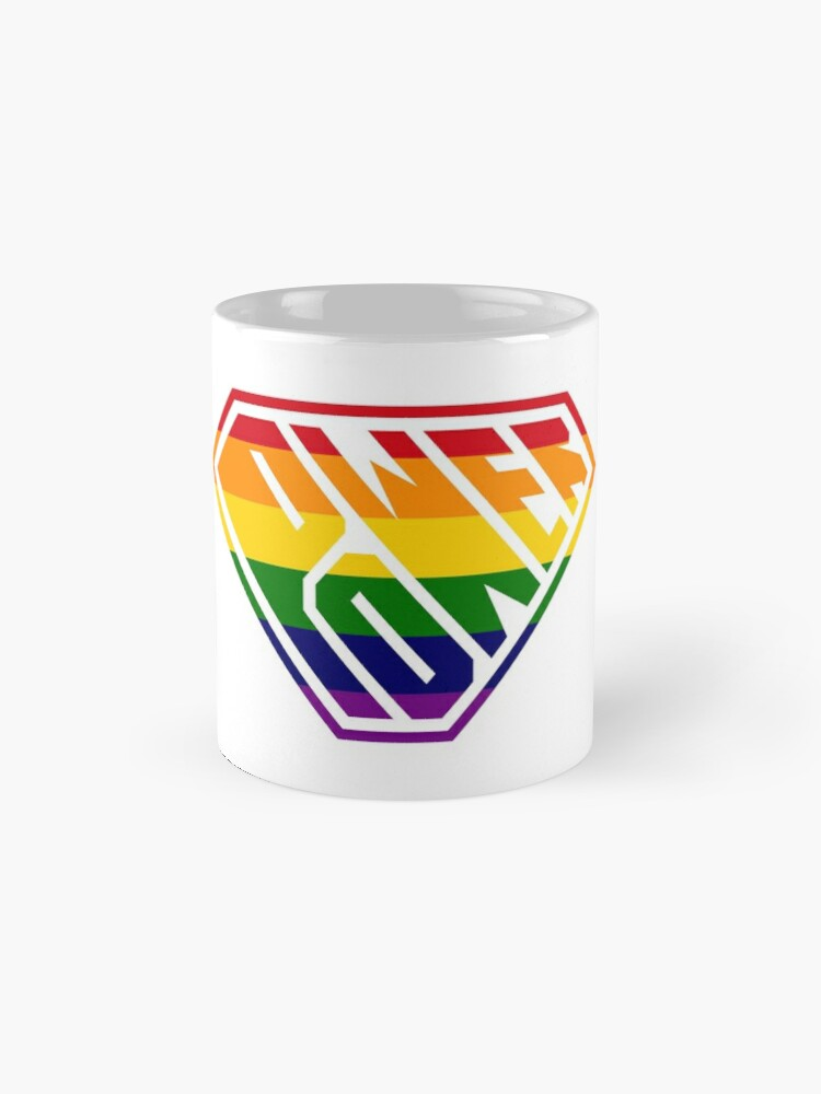 Alternate view of SuperEmpowered (Rainbow) Classic Mug