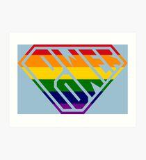 SuperEmpowered (Rainbow) Art Print