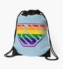 SuperEmpowered (Rainbow) Drawstring Bag