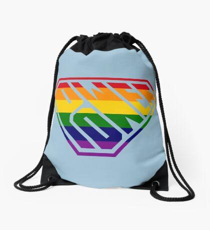 SuperEmpowered (Rainbow) Drawstring Bag