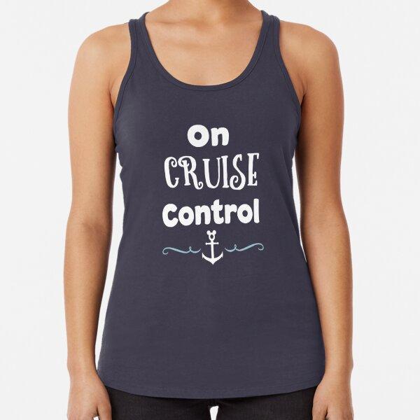 On Cruise Control Racerback Tank Top