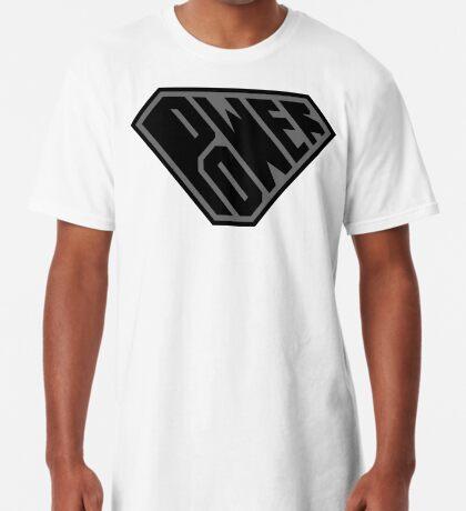 SuperEmpowered (Black on Black) Long T-Shirt